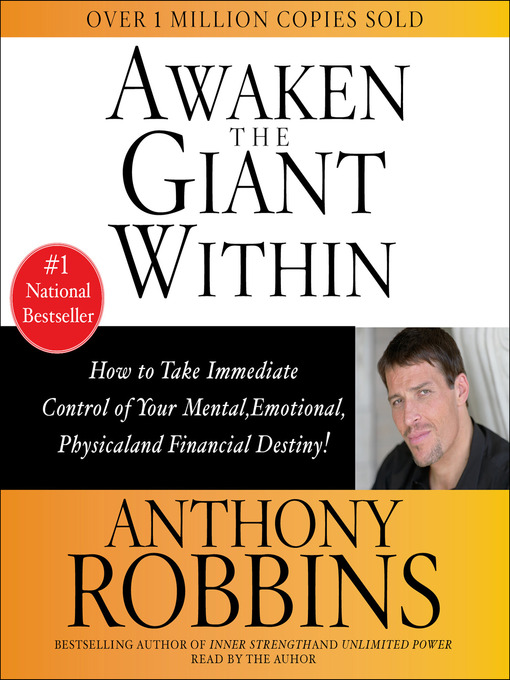 Title details for Awaken the Giant Within by Tony Robbins - Wait list