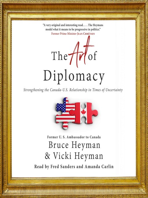 Title details for The Art of Diplomacy by Bruce Heyman - Wait list