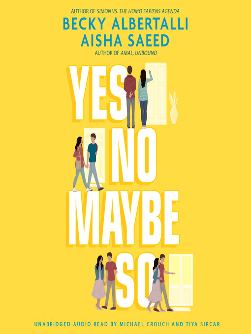 Title details for Yes No Maybe So by Becky Albertalli - Wait list