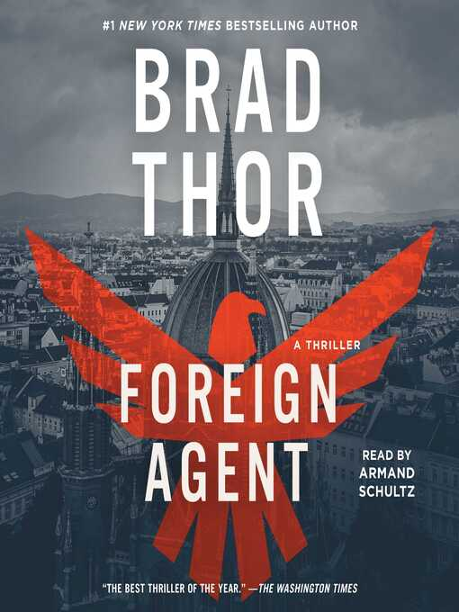 Title details for Foreign Agent by Brad Thor - Wait list