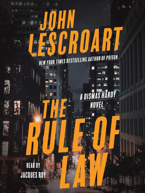 Title details for The Rule of Law by John Lescroart - Wait list