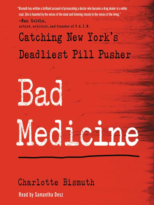 Title details for Bad Medicine by Charlotte Bismuth - Wait list