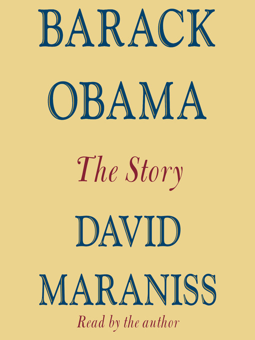 Title details for Barack Obama by David Maraniss - Available