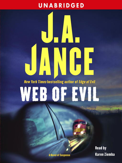 Title details for Web of Evil by J.A. Jance - Wait list