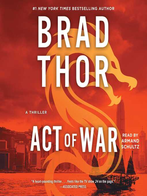 Title details for Act of War by Brad Thor - Available