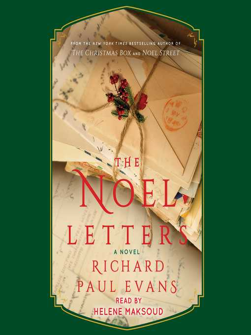 Title details for Noel Letters by Richard Paul Evans - Available