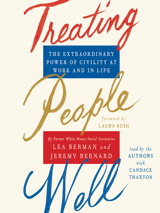 Title details for Treating People Well by Lea Berman - Wait list