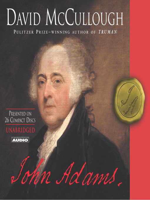 Title details for John Adams by David McCullough - Wait list