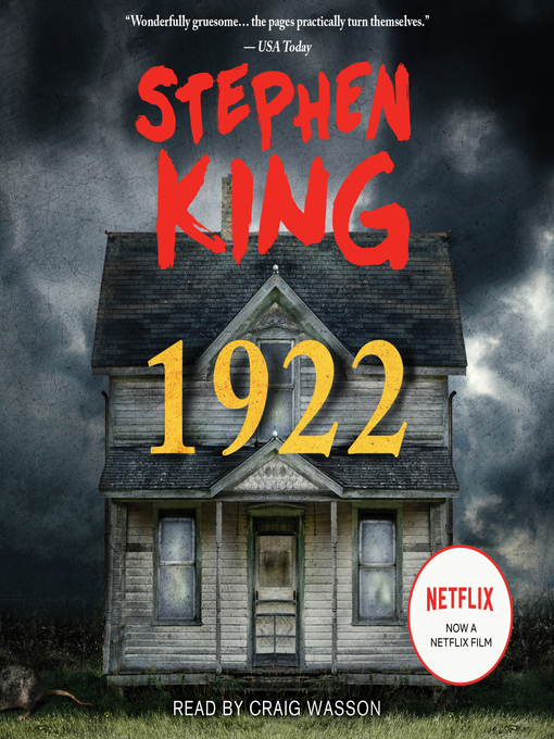 Title details for 1922 by Stephen King - Available