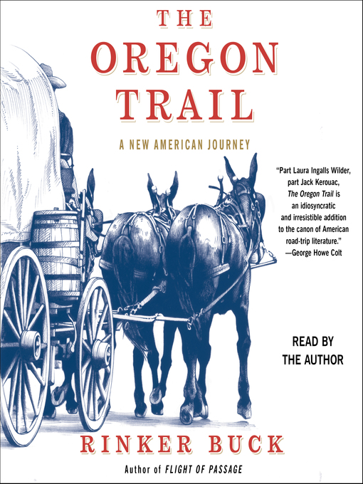 Title details for The Oregon Trail by Rinker Buck - Wait list