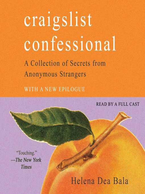 Title details for Craigslist Confessional by Helena Dea Bala - Wait list