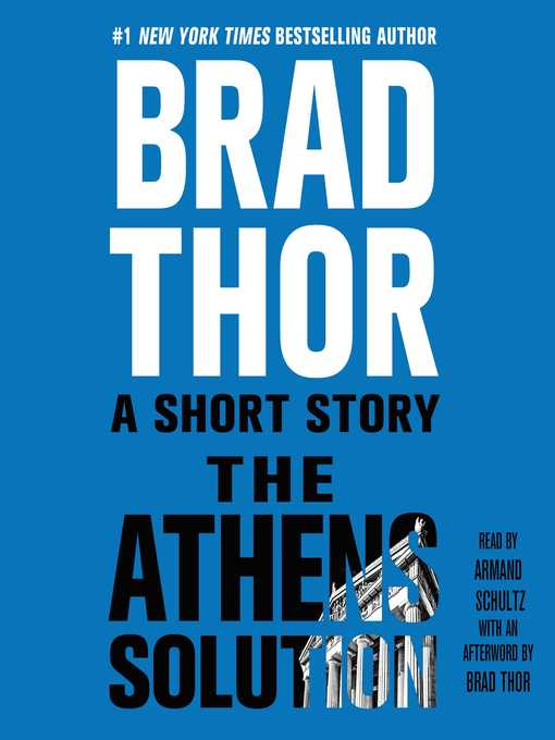 Title details for The Athens Solution by Brad Thor - Available