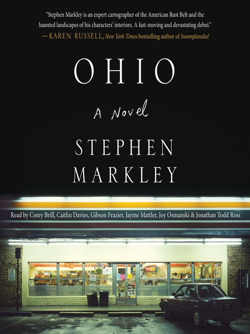 Title details for Ohio by Stephen Markley - Wait list