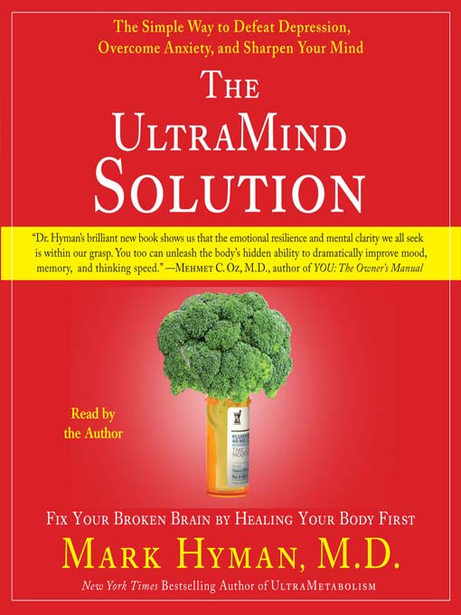 Title details for The UltraMind Solution by Mark Hyman - Wait list