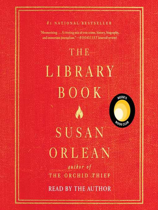 Title details for The Library Book by Susan Orlean - Available