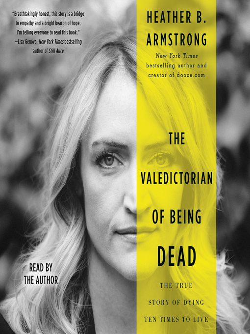 Cover image for book: The Valedictorian of Being Dead