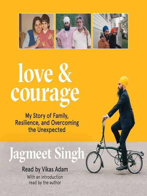 Title details for Love & Courage by Jagmeet Singh - Wait list