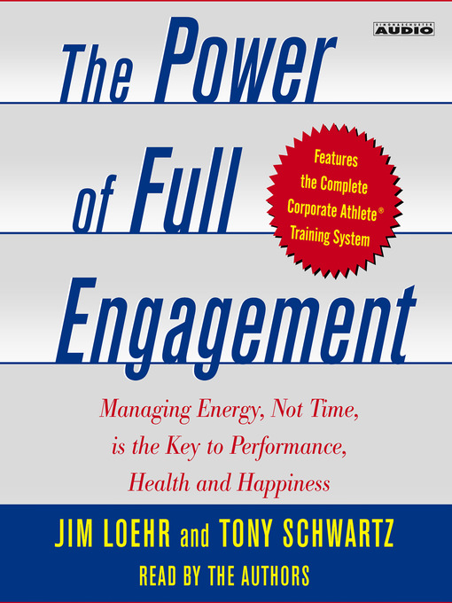 Cover of The Power of Full Engagement