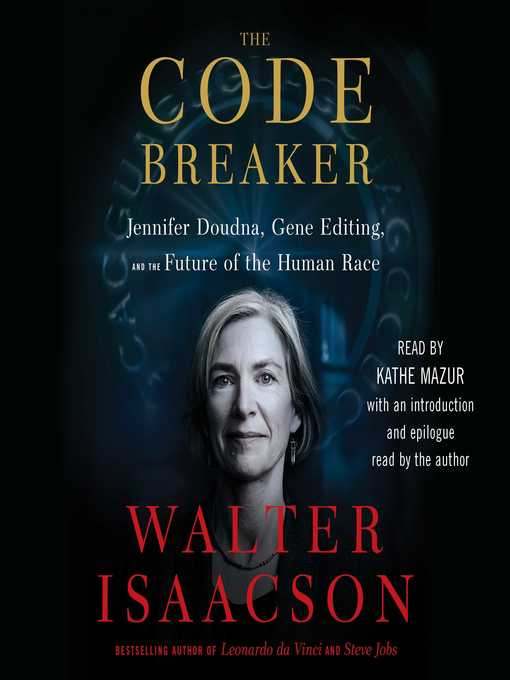 Title details for The Code Breaker by Walter Isaacson - Wait list