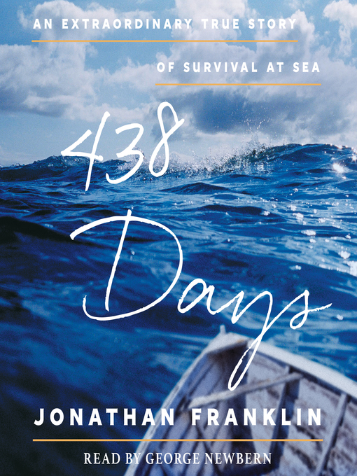 Title details for 438 Days by Jonathan Franklin - Wait list