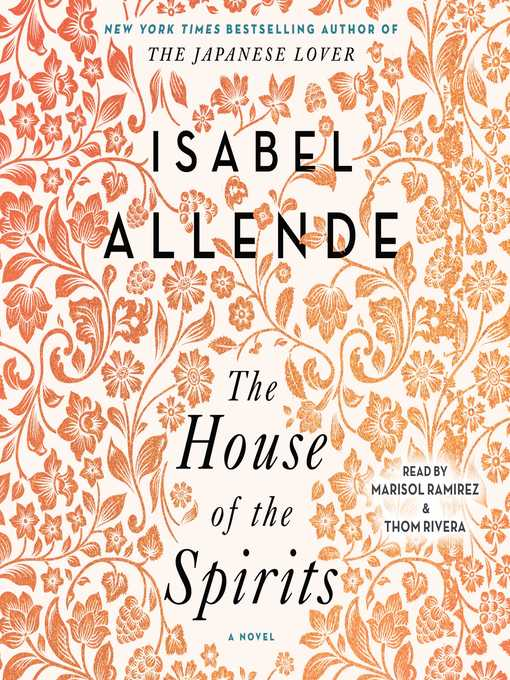 Title details for The House of the Spirits by Isabel Allende - Wait list
