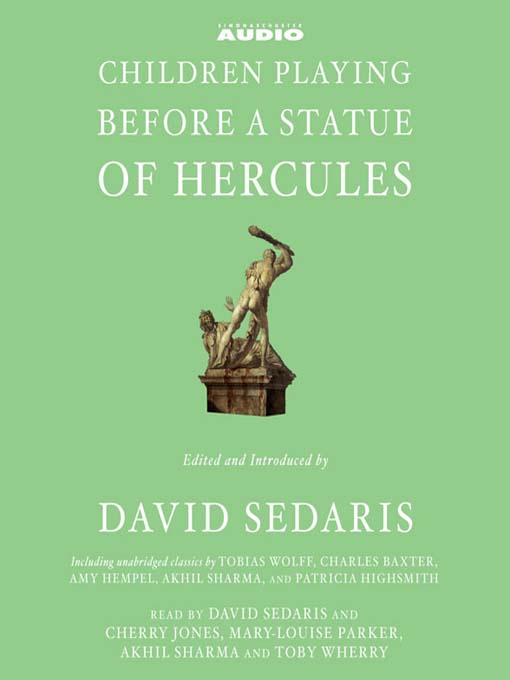 Cover of Children Playing Before a Statue of Hercules