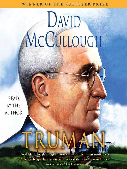 Title details for Truman by David McCullough - Wait list
