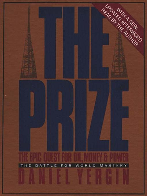 Title details for The Prize by Daniel Yergin - Wait list