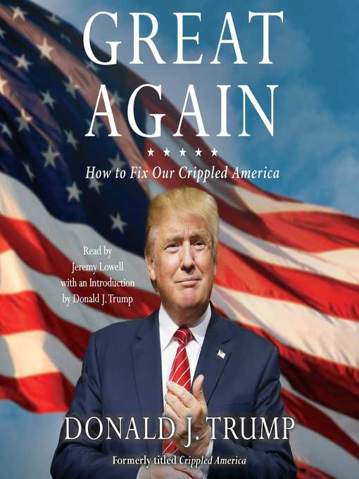 Title details for Great Again by Donald J. Trump - Available