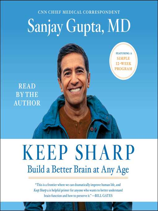 Title details for Keep Sharp by Sanjay Gupta - Wait list