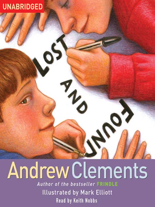 Title details for Lost and Found by Andrew Clements - Wait list