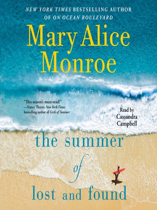 Title details for The Summer of Lost and Found by Mary Alice Monroe - Wait list