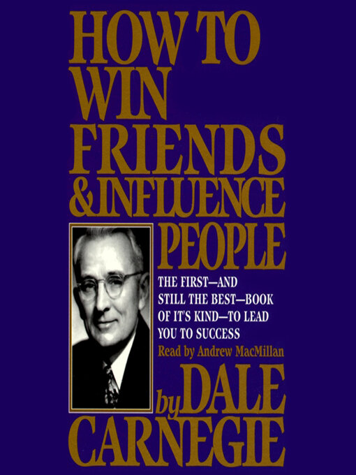 Cover of How to Win Friends and Influence People