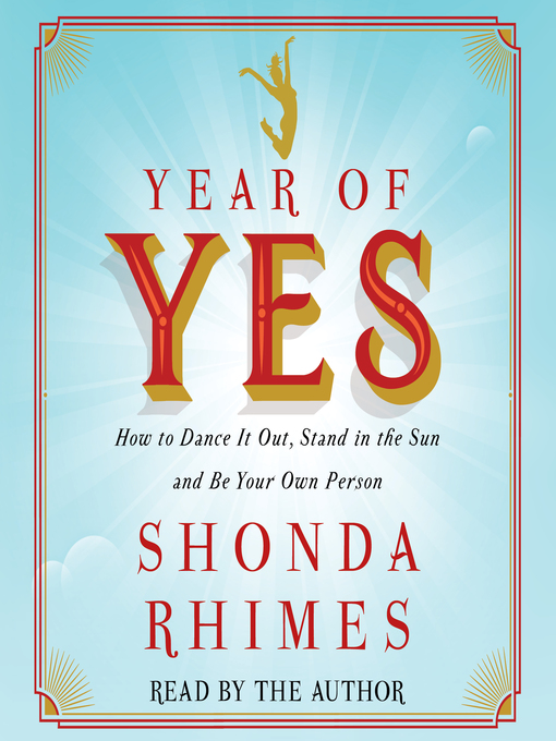Title details for Year of Yes by Shonda Rhimes - Wait list