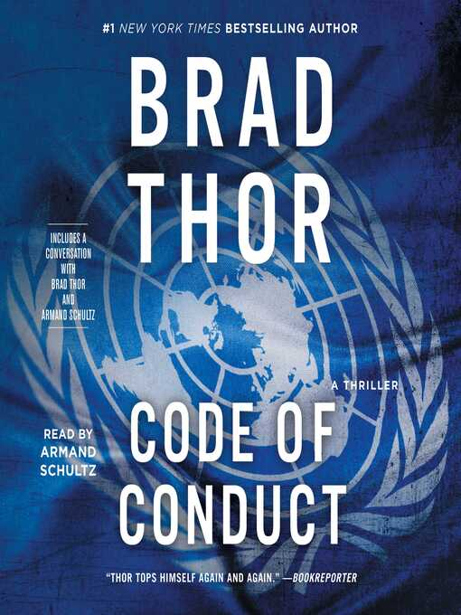 Title details for Code of Conduct by Brad Thor - Wait list