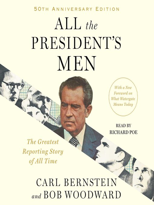 Title details for All the President's Men by Bob Woodward - Wait list