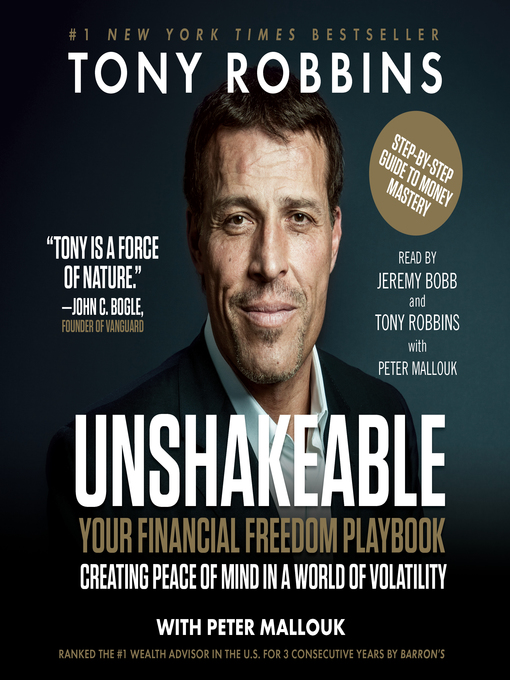 Title details for Unshakeable by Tony Robbins - Wait list