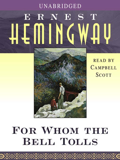 Title details for For Whom the Bell Tolls by Ernest Hemingway - Wait list