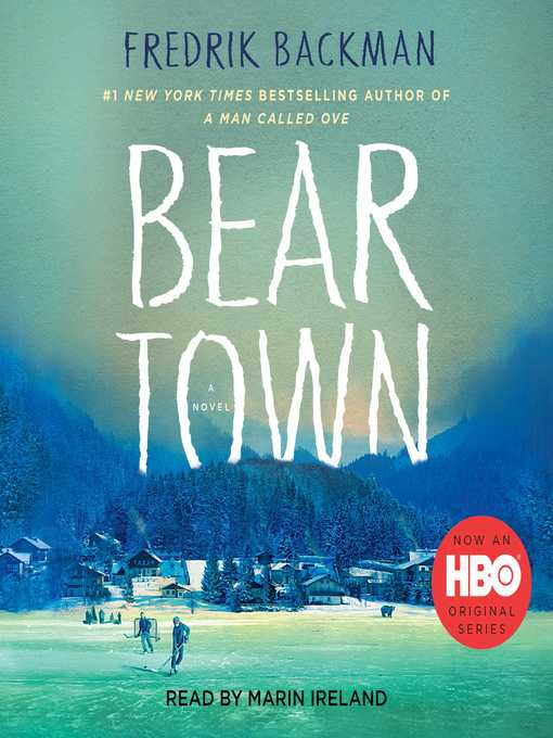Cover art for Bear Town by Fredrik Backman