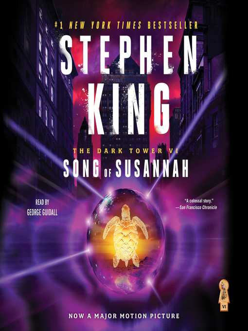 Title details for Song of Susannah by Stephen King - Wait list