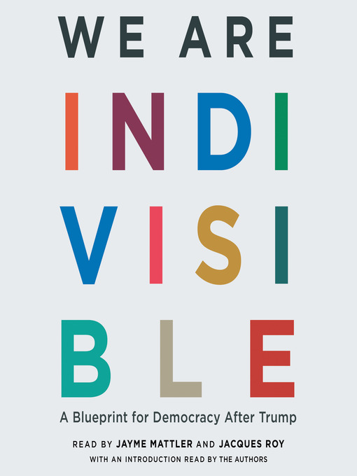Title details for We Are Indivisible by Leah Greenberg - Wait list