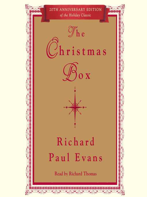 Title details for The Christmas Box by Richard Paul Evans - Available