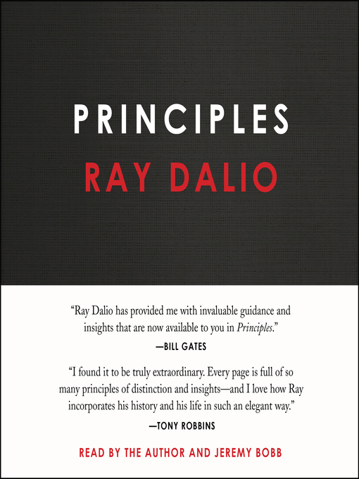 Title details for Principles by Ray Dalio - Wait list