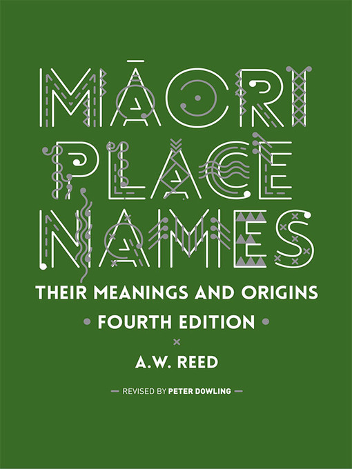 Title details for Māori Place Names by A.W. Reed - Available