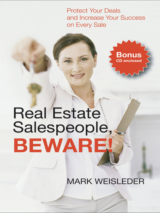 Title details for Real Estate Salespeople, Beware! by Mark Weisleder - Available