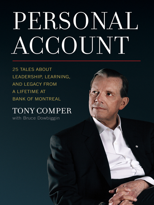 Cover image for book: Personal Account