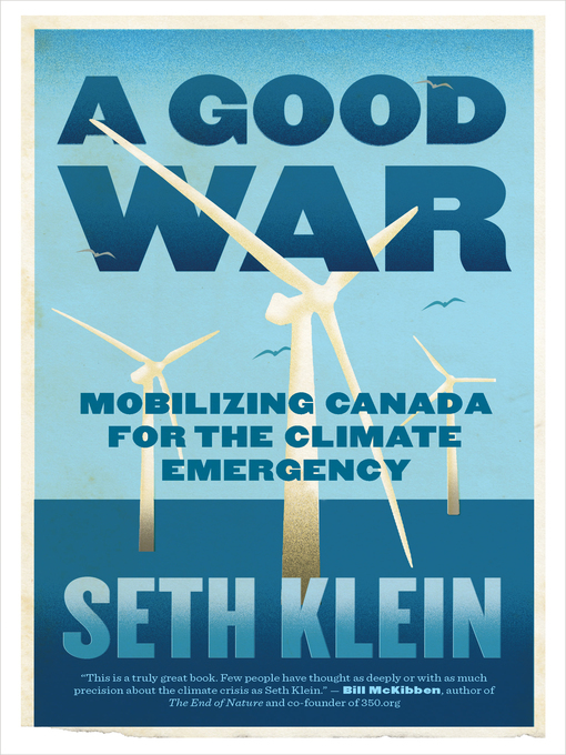 Title details for A Good War by Seth Klein - Wait list