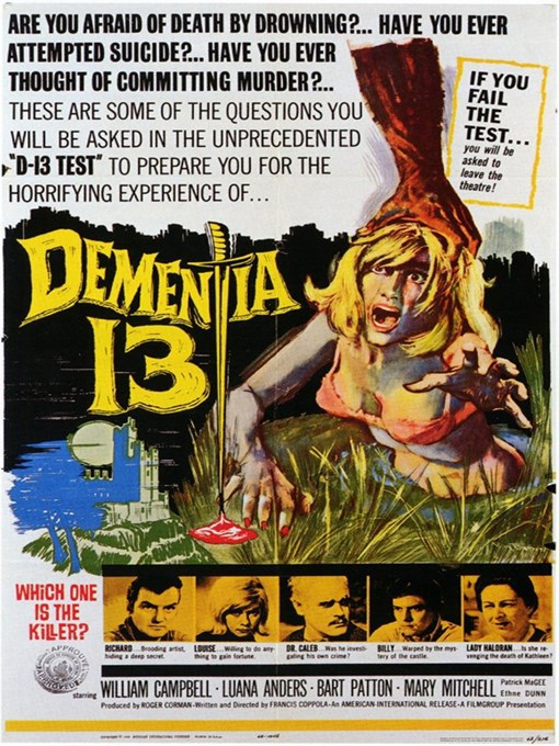 Title details for Dementia 13 by Francis Ford Coppola - Available