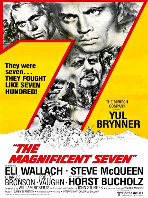Title details for The Magnificent Seven by John Sturges - Available