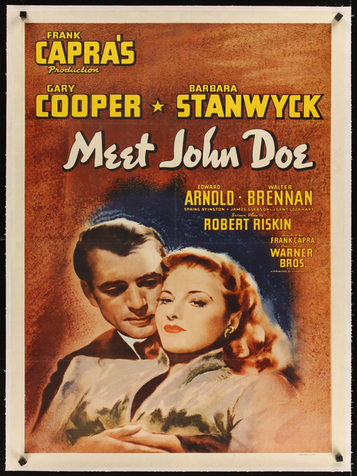 Title details for Meet John Doe by Frank Capra - Available